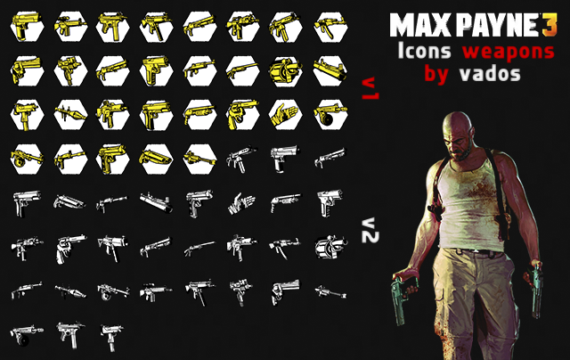 MAXPAYNE3 ICONS PACK  • DL 06038570