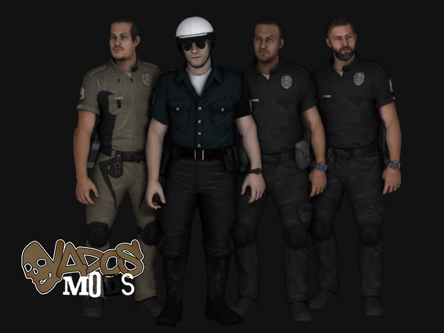 [HD] Police pack